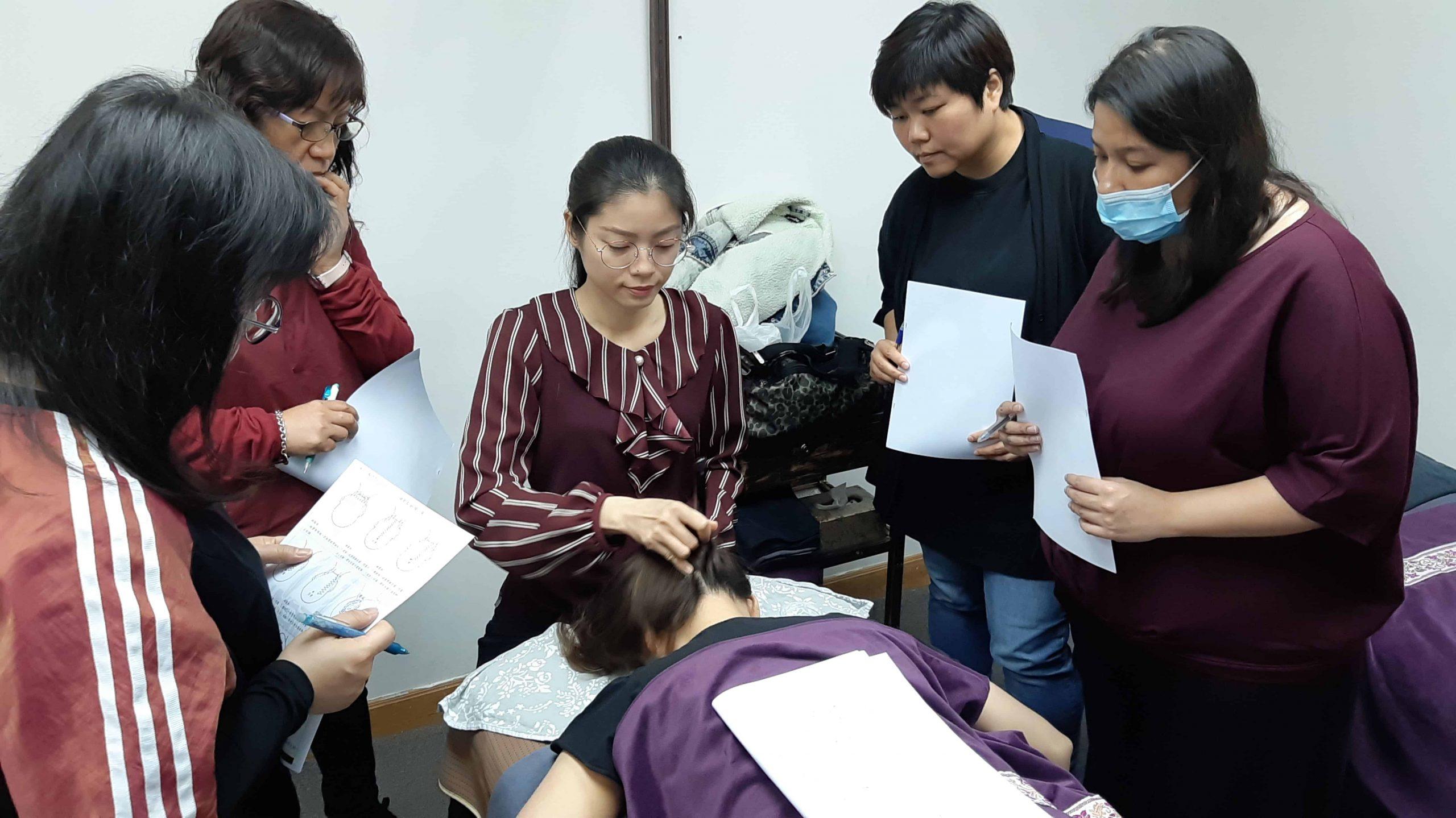 香港撥筋教學